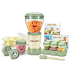 The Baby Bullet has all the power and convenience of the Original Magic Bullet, but now you don't have to make baby's food where you make your margaritas and salsa. With the all NEW baby blend blade you can make and store fresh, healthy, deli...