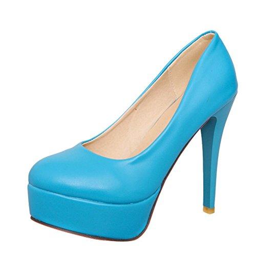 MissSaSa Femmes Bleu Bleu Chaussures Plateforme MissSaSa Femmes Chaussures Plateforme 7wqwBfS