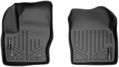 MAXLINER All Weather Custom Fit 1st Row Black Floor Mat Liner Set Compatible With 2013-2019 Ford Escape / 2013-2018 Ford C-Max / 2015-2016 Lincoln MKC