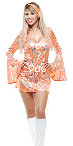 70s disco mini dress - 9