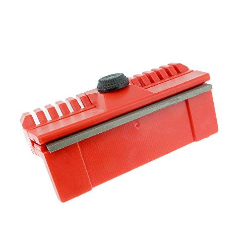 Redneck Convent Chainsaw Bar Tool Chainsaw Guide Bar Dresser - Bar Rail Dresser, Chainsaw Sharpener Sharpening File Chainsaw Tool in Red