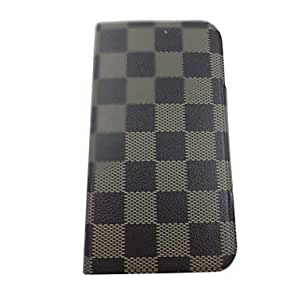 SOL Beautiful Squares Stereo Wave Pretty Pattern PU Leather Full Body Case with Stand for Samsung S3/I9300