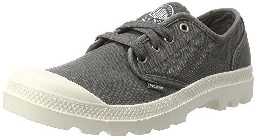 Palladium Herren Pampa Oxford Sneaker Grau (Pavement/Ecru)
