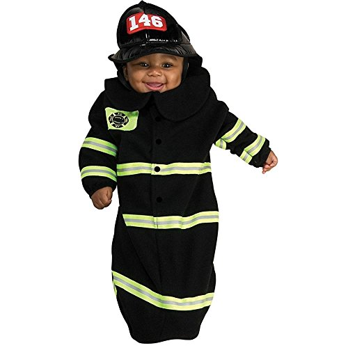 Firefighter Bunting Baby Infant Costume - Newborn