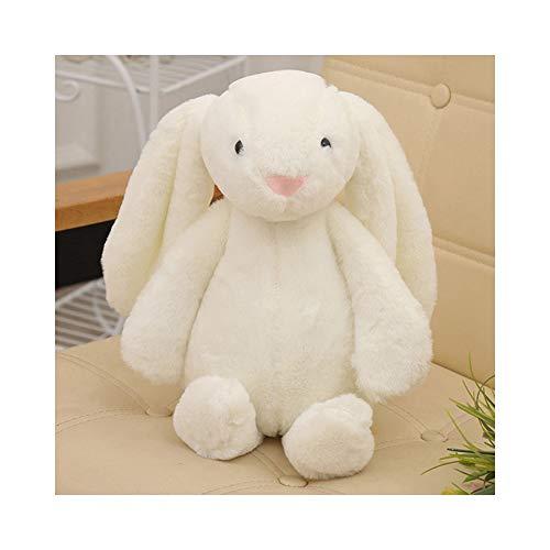 Flodance 30cm Cute Bunny Plush Rabbit Toy Soft Cloth Stuffed Rabbit Easter Gift Decor Baby Appease Toys for Children Kids Gift