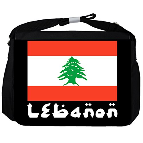 Libanon -Flagge - Unisex-Umhängetasche
