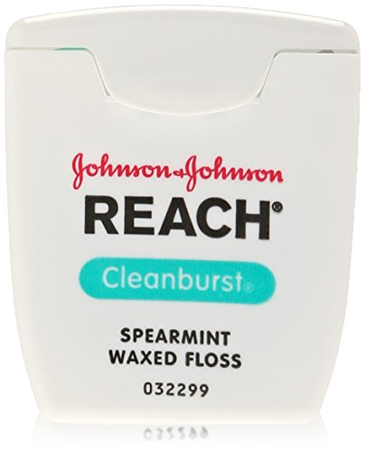 Reach Clean Burst Waxed Floss-Icy Spearmint-55 yds.