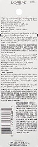L'Oréal Paris Infallible Matte-Matic Mechanical Eyeliner, Deep Brown, 0.01 oz.