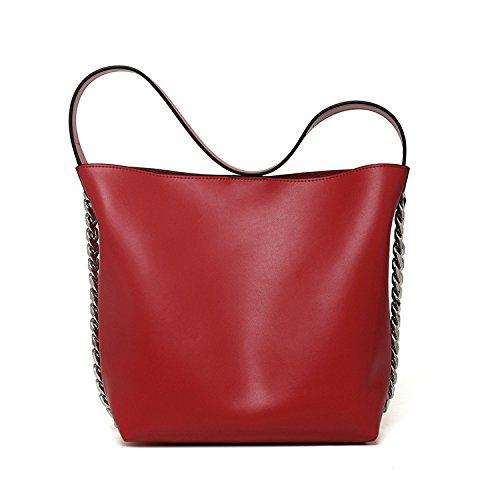 Bolsos de alta capacidad otoño e invierno nuevas señoras bolso bolsa niño paquete diagonal de gran capacidad, plata red
