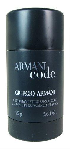 (Giorgio Armani Code Alcohol Free Deodorant Stick,)