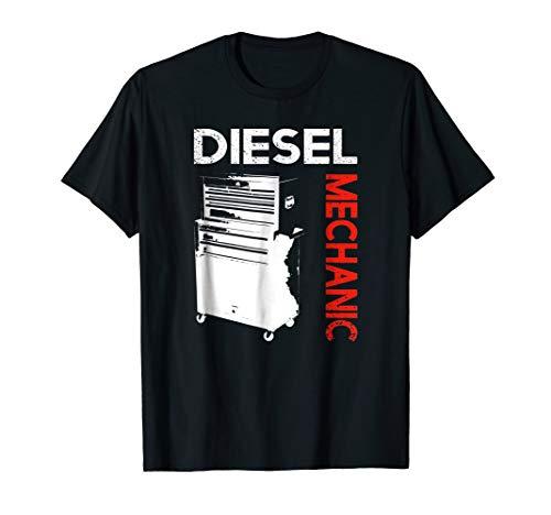 Diesel Womens Clothing - Diesel Mechanic T-shirt - Cool Gift Dad Husband