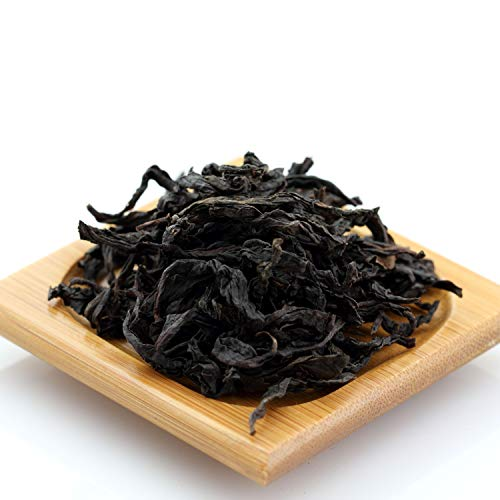 Vintage Oolong Tea - GOARTEA 100g (3.5 Oz) Organic Premium Da Hong Pao Dahongpao Big Red Robe Wuyi Mountain Chinese Oolong Tea