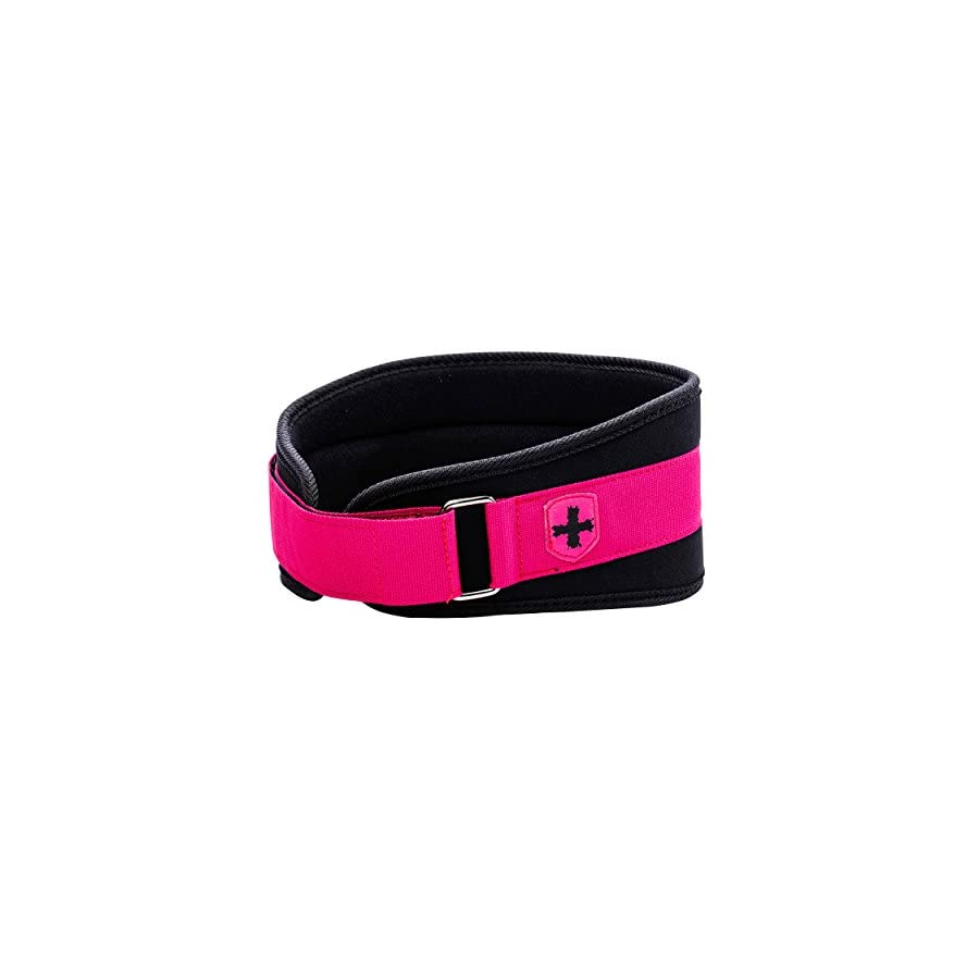 Harbinger Women's Nylon Weightlifting Belt with Flexible Ultralight Foam Core, 5 inch