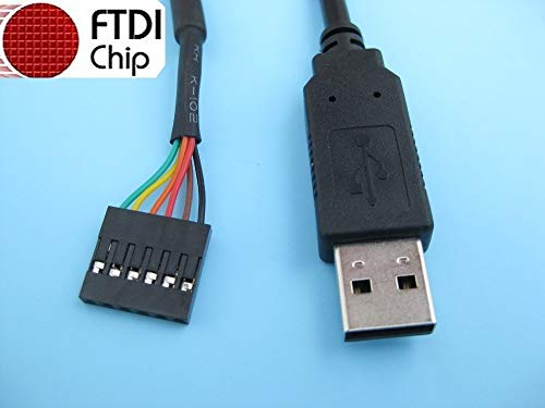 USB to 5v TTL Header Like FTDI TTL-232R-5V by Connecting Cable