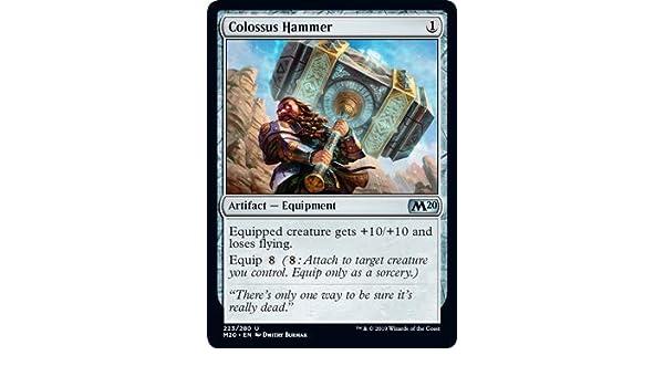 FOIL Colossus Hammer NM M20 MTG Magic The Gathering Artifact English Card