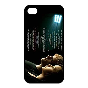 The Hunger Games Two Protagonists Katniss Peeta Mellark Unique Apple Iphone 4 4S Durable Hard Plastic Case Cover CustomDIY by supermalls