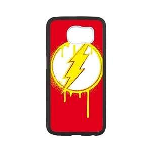 Flash Emblem Drip Samsung Galaxy S6 Cell Phone Case White toy pxf005_5765207