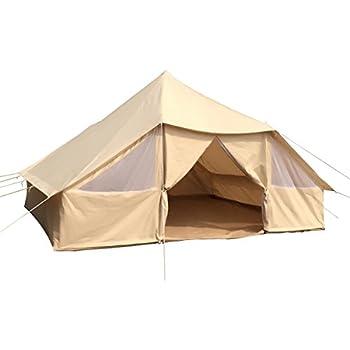 Amazon com : Ozark Trail 12x10 Wall Tent, Sleeps 6 : Sports
