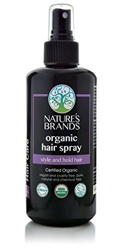 Organic Hair Spray by Herbal Choice Mari; 6.8 Fl Oz Glass Bottle
