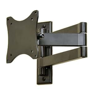 "VideoSecu Swing Arm TV Wall Mount for Vizio 19 22 24 26 inch E191VA M190MV E220VA M221NV E221-A1 E241i-A1 E240AR E260MV E261VA M260VA HDTV, TV Mount Bracket Max. 14"" Pullout 1F6"