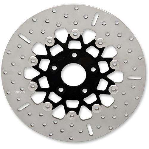 イービーシー ローター 11.5インチ リア ワイド 黒/クローム 10ボタン フローティング 1710-2252 RSD019BLK EBC   B01MCRPJZ7