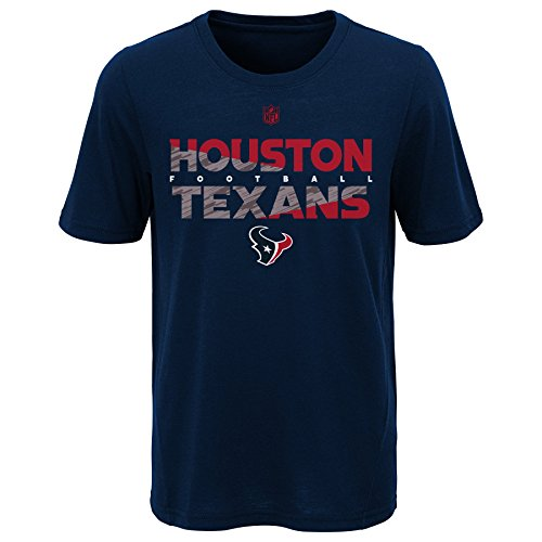 - Outerstuff NFL NFL Houston Texans Youth Boys Flux Short Sleeve Ultra Tee Dark Navy, Youth X-Large(18)