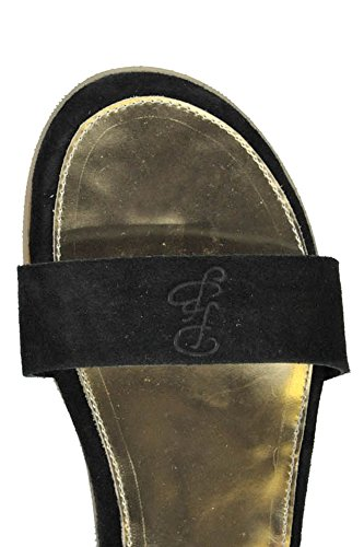 Passion Blanche Ladies Mcglcab03007e Sandali In Camoscio Nero / Oro