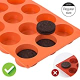 Webake Chocolate Cookie Mold Silicone Baking