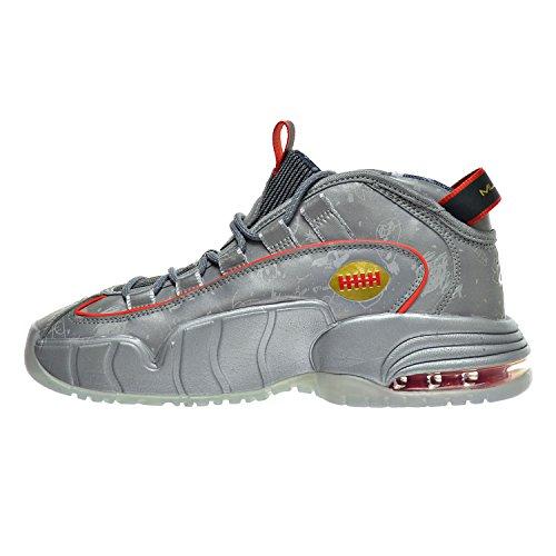 Nike Air Max Penny Le Db (gs) Doernbecher Grandi Bambini Scarpe Argento Riflettente / Nero / Sfida Rosso / Metallico 728591-001