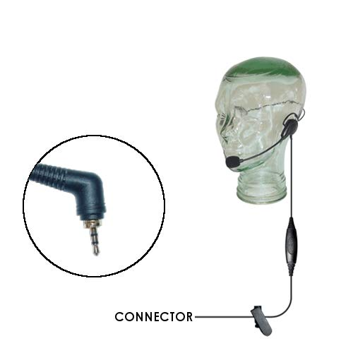 Klein Razor Lightweight Behind The Head Headset for Motorola Team Sprint Direct Connect Kyocera DuraPlus/DuraXT Series Samsung Convoy and Casio Ozone Phones