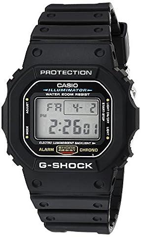 G-shock DW5600E-1V Men's Black Resin Sport Watch (Mens Digital Sports Watch G Shock)