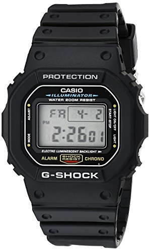 Watch: Casio Men's DW5600E-1V G-Shock Classic Digital Watch, sport watch