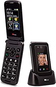 TTfone Titan TT950 Whatsapp 3G Touchscreen Senior Big Button Flip Mobile Phone - Easy and Simple to Use