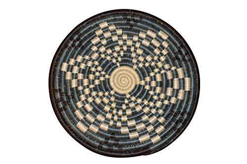 Table Mat| Trivet| Heat Resistant| Plate mat| African Table mats/African Woven Trivet/Rwanda Basket/Woven Table mats Hand Woven Coaster/Colorful hotpot Bohemian/Black and White Slate - African Slate