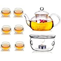 Double wall serving set of 8pcs