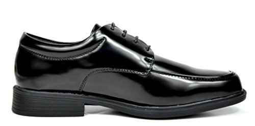 Bruno Marc Mens Leather Lined Square Toe Dress Oxfords Shoes 1-black Pat 9wUYDR5