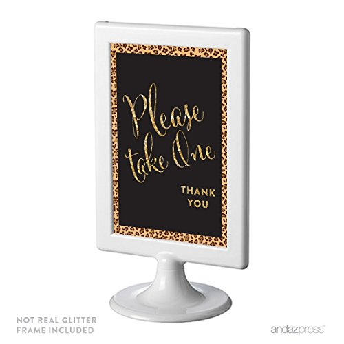 cheetah picture frame - 1