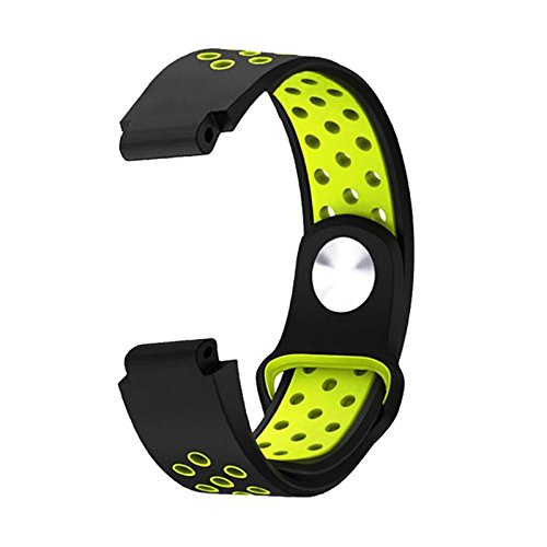 Price comparison product image Owill Soft Silicone Strap Replacement Watch Band For Garmin Forerunner 235 / 220 / 230 / 620 / 630 / 735XT,  Fits Wrist: 150-210mm (Green)