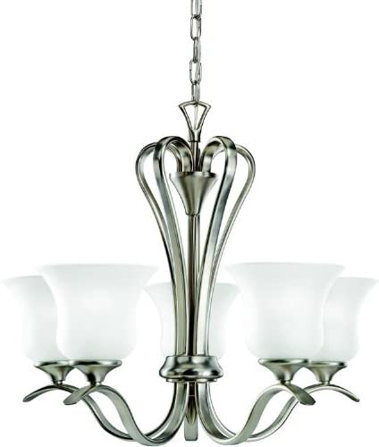 Kichler 2085NI Wedgeport Chandelier 5-Light, Brushed Nickel