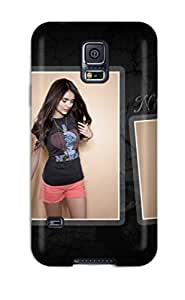 Theodore J. Smith's Shop Hot Awesome Nina Dobrev Vampire Diaries Actress Flip Case With Fashion Design For Galaxy S5