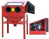Sandblaster Bead Sand Grit Blasting Blaster Blast Sandblasting Cabinet 220L