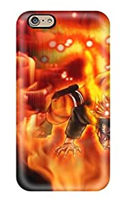 Protective Tpu Case With Fashion Design For Iphone 6 (naruto)