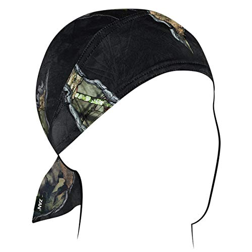 Officially Licensed Mossy Oak Break-Up Eclipse Hunting Hunter Durag Head Wrap Skull Cap Hat Camo Camouflage