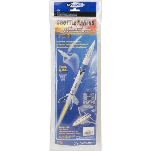 Estes 2183 Shuttle Xpress Flying Model Rocket Kit, Model: 2183, Toys & Play