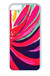 iPhone 6 Case, Personalized Unique Design Covers for iPhone 6 PC White Case - Colorful Bg by lolosakes