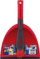 Vileda 141743 Kehrset 2-in-1 - sauber Auffegen in einem Zug - mit extra...