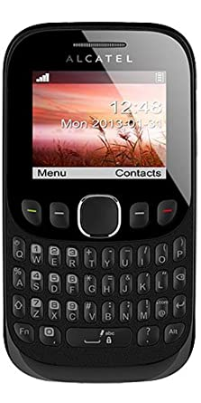 alcatel tribe 3003g vodafone pay as you go qwerty mobile phone rh amazon co uk
