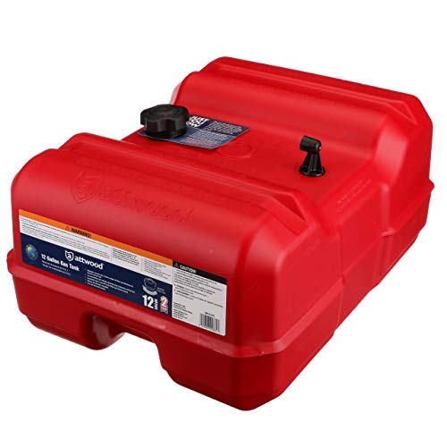 Attwood 8812LLP2 Epa Certified Portable Fuel Tank 12 - Tanks Attwood Fuel
