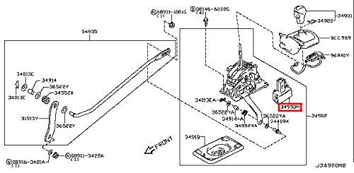 infiniti qx50 transmission solenoid  transmission solenoid for infiniti qx50