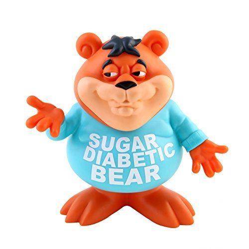 Sugar Diabetic Bear 2017 SDCC Designer Vinyl Figure by Ron English